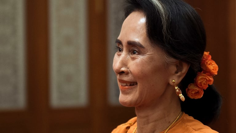"""Myanmar's Aung San Suu Kyi """"has a responsibility to give protection to civilians,"""" said a prominent Rohingya activist in Myanmar."""