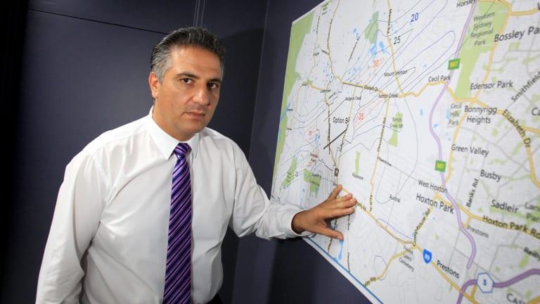 Fairfield mayor Frank Carbone says he is no property developer.