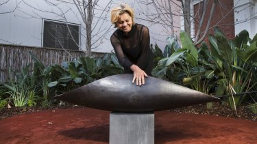 <i>Empty Coolamon</i> by Robyne Latham has been installed to mark Sorry Day, which is part of Reconciliation Week.