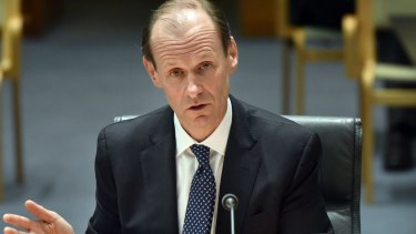 Shayne Elliott, ANZ chief executive  speaks during a hearing before the House of Representatives standing committee on economics.