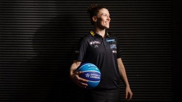 2017 Canberra Capitals captain Nat Hurst.