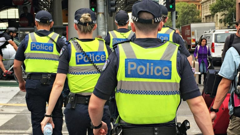 Five people have been arrested after a dramatic police intercept in Hoppers Crossing.