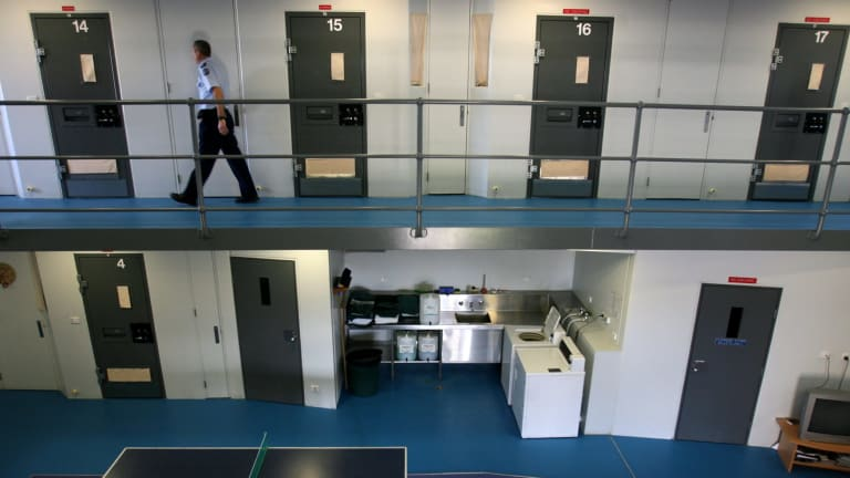 Prisoners are being released on bail instead of remanded because of overcrowding.