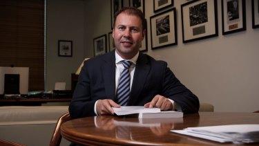 GST push: Assistant Treasurer Josh Frydenberg.