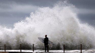Surf's up a bit too much.