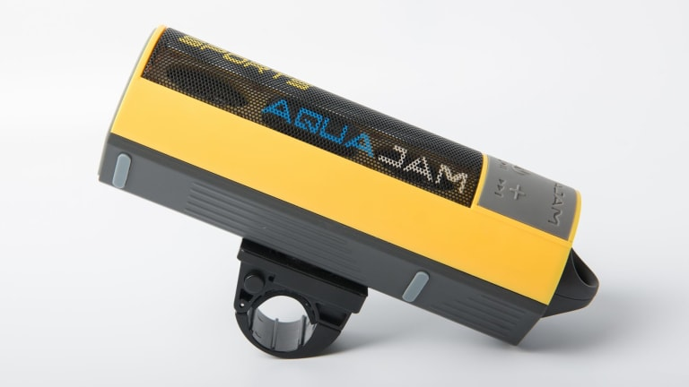 The AquaJam floats, plays music and takes phone calls. Pretty good for summer, then.