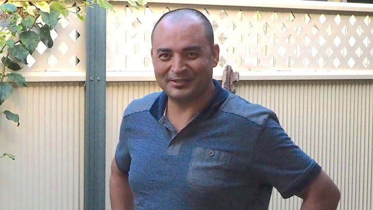 Nadir Sadiqi was among about 10,000 asylum seekers whose identities were revealed in an Immigration Department data breach.