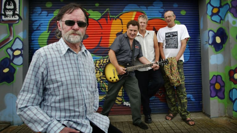 Daddy Cool in 2005 when they came together to play a fundraising gig, with Wayne Duncan at the forefront.