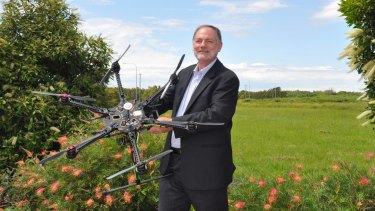 Professor Duncan Campbell's Queensland University of Technology-based Australian Research Centre for Aerospace Automation is researching drones.
