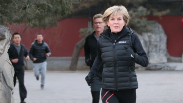 Foreign Minister Julie Bishop says the government will lay out its economic and tax strategies in the May budget.
