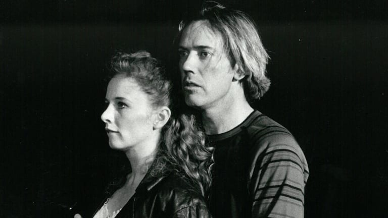 Alison Whyte and Michael Fry in <i>A  Midsummer Night's Dream</i>, 1993-94.