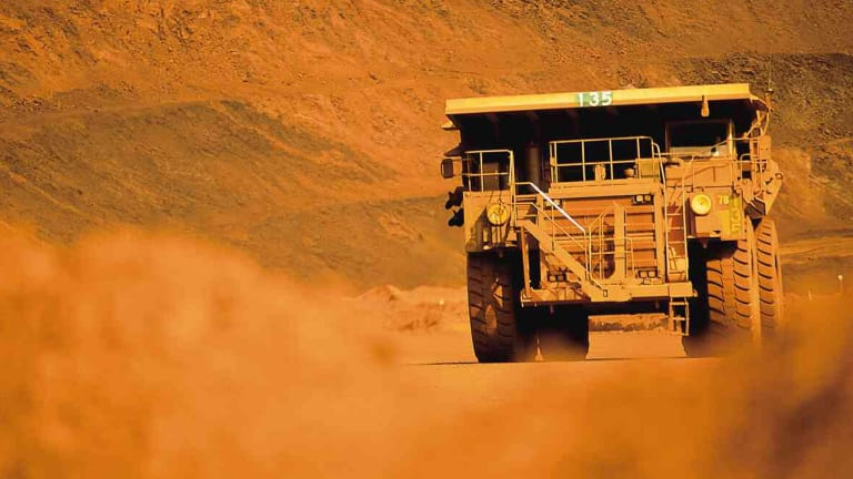 BHP's top executive said that the perception in the West that too few people had benefited from globalisation had left the West distracted, while creating opportunities for China and the East.