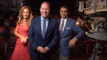 Carrie Bickmore, Peter Helliar and Waleed Aly host The Project on weeknights.