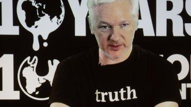 Truth? WikiLeaks founder Julian Assange.