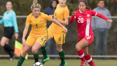 """Young Matildas player Remy Siemsen said she is """"really happy"""" with her HSC results."""