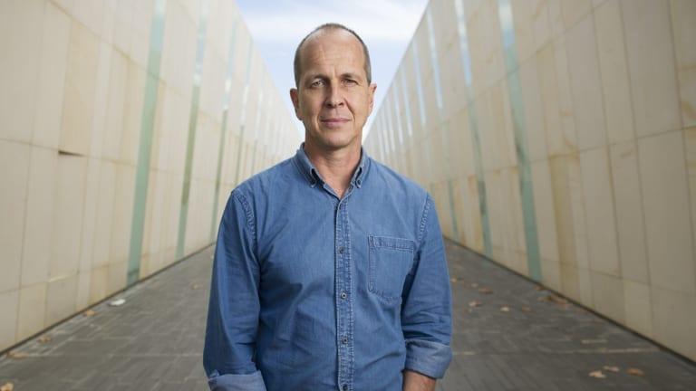 Journalist Peter Greste in Canberra in 2015