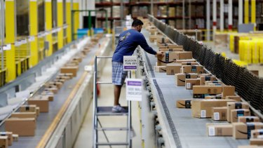 Amazon is hiring.