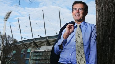 Australian Sports Commission chairman John Wylie outside the MCG