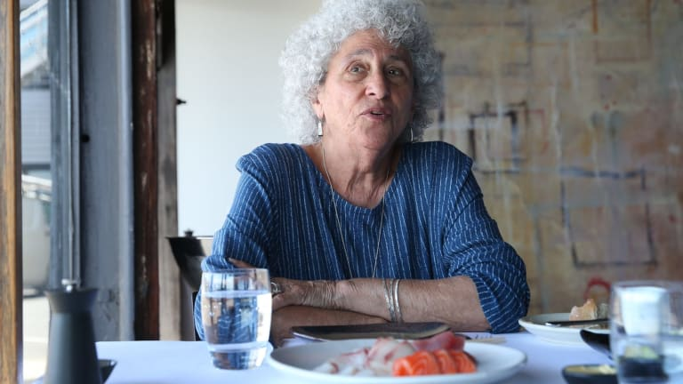 Professor Marion Nestle in Sydney in February.