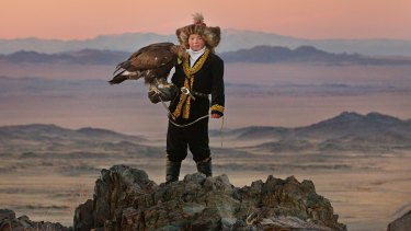 Aisholpan Nurgaiv learns the ancient art of eagle hunting.