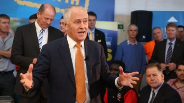 Prime Minister Malcolm Turnbull conducted a youth jobs forum in Perth on Tuesday. He agrees Australia was invaded but is cool on a treaty.