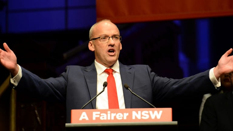 Opposition Leader Luke Foley welcomed the swing against the Nationals.