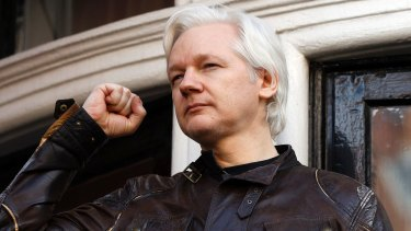 'Today is a victory': Julian Assange told the waiting media.