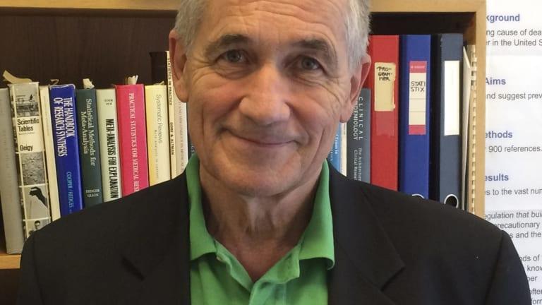 Peter Gotzsche, from the Nordic Cochrane Centre in Denmark.