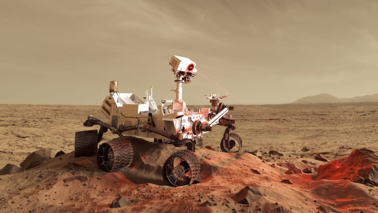 Newsmaker: Life on Mars a real war of the worlds