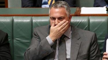 Treasurer Joe Hockey during question time on Monday.