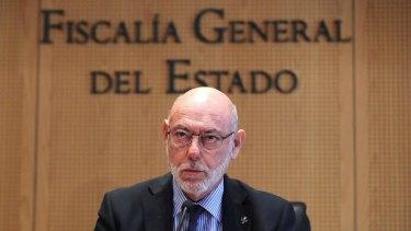 Former Spanish Attorney-General Jose Manuel Maza