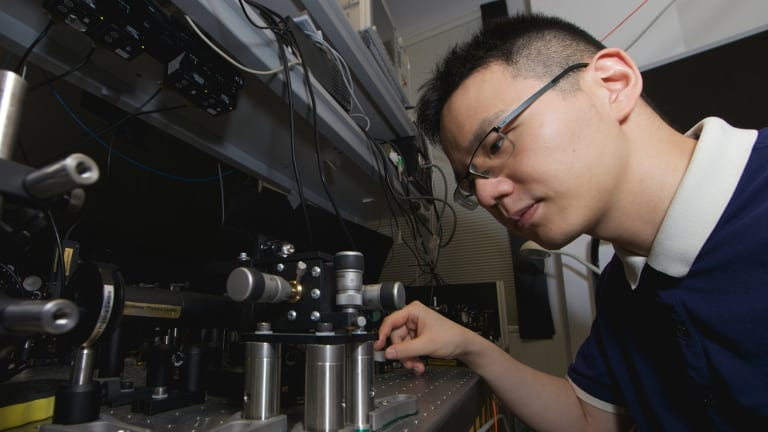Lei Wang said his research was partly inspired by Star Wars.