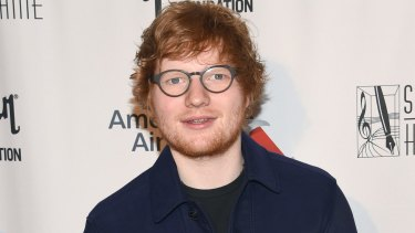 Intenational acts such as Ed Sheeran dominate Australian charts.