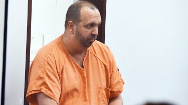 Craig Stephen Hicks appears in court.