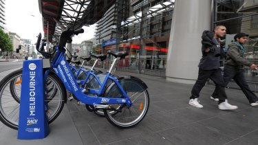Melbourne's bike share scheme, like Brisbane's, has been hampered by its helmet requirement.
