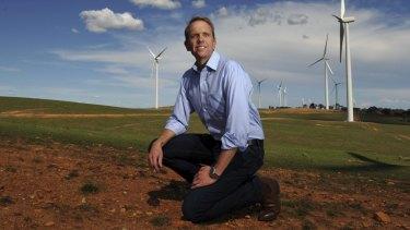 Environment Minister Simon Corbell has bitten back at critics of renewable energy.