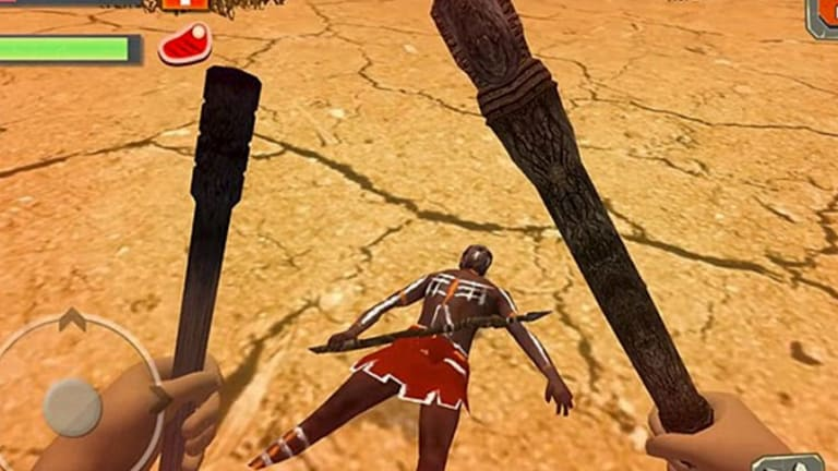 """Players are warned to """"beware of Aborigines"""" in the racist game, which requires players to kill Indigenous people in order to survive."""