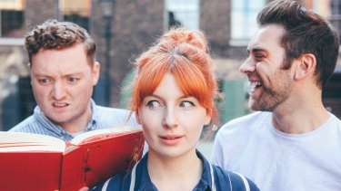 's Jamie Morton, Alice Levine and James Cooper sold out their Australian tour.