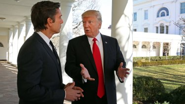 ABC News' David Muir talks to President Donald Trump from the White House.