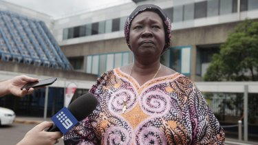 Sudanese community leader Tresa Diing is a relative of the driver of the car.