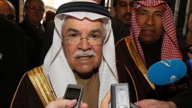 """Saudi Arabian Oil Minister Ali al-Naimi says OPEC will """"continue its pivotal role in production and investment no matter how much prices fall""""."""
