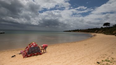 Canadian Bay has been one of the worst Melbourne beaches for water quality so far this summer, according to the EPA.