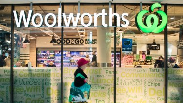 Woolworths is pushing back to defend its turf against Amazon.