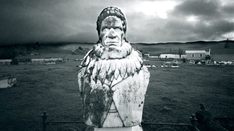 Laurence Aberhart, Te Hapuku, Te Hauke, Hawke's Bay.