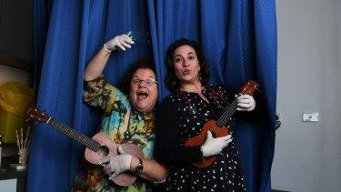 GPs Dr Linda Mann and Dr Anna Sallos in GP the Musical.