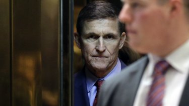 White House national security adviser Michael Flynn.