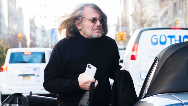 Donald Trump's longtime doctor Harold Bornstein outside his New York office in 2015.