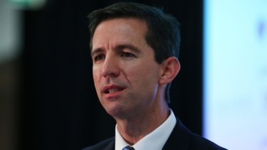 Education Minister Simon Birmingham has outlined plans to collect HECS debt from deceased estates and graduates now based overseas.