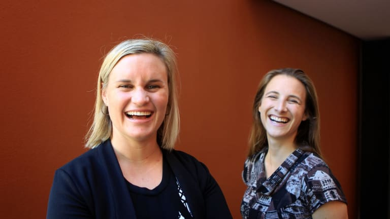 """OpenAgent co-founders Zoe Pointon, left, and Marta Higuera. Pointon says: """"We would like to see less tax and financial burdens for startups, beginning with funding matching for early stage startups to provide a growth boost, eliminating the payroll tax for high growth companies and providing tax breaks for those who are working at early stage/high growth companies to make salaries more competitive."""""""