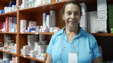 """""""Nobody is paid here,"""" says Volunteer Martha Frangiadakis. """"We do it because we can."""""""